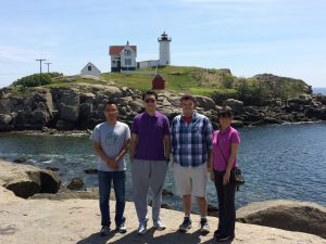 Roy et al. by lighthouse
